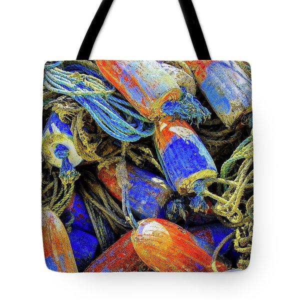 Aqua Hedionda Tote Bag