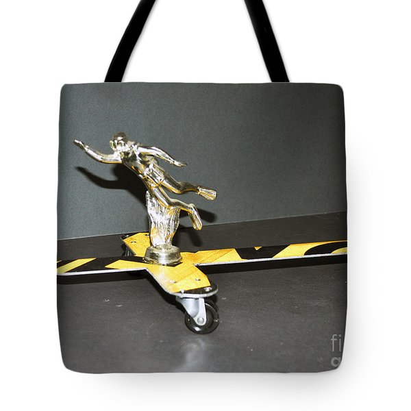 Aqua Man Tote Bag by Bill Thomson