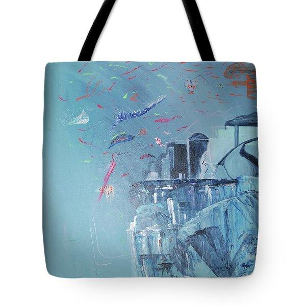 Aqua Resort Tote Bag