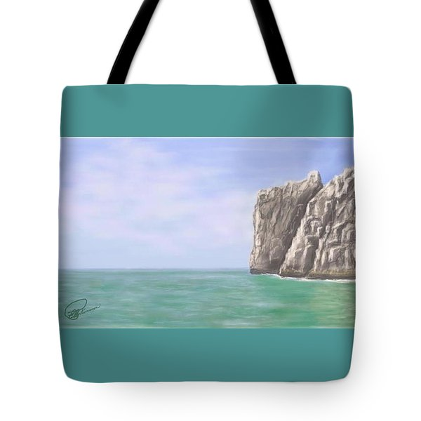 Aqua Sea Tote Bag