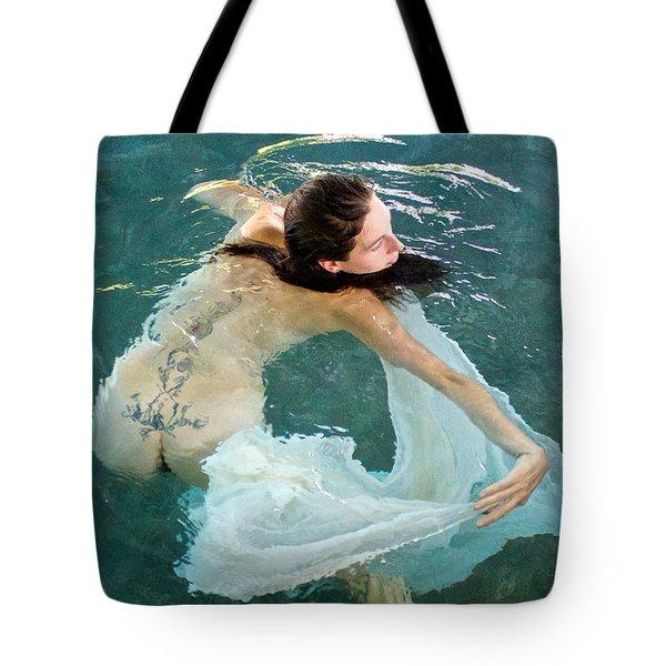 Aquadance Water Ballet Tote Bag