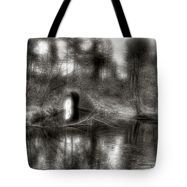 Aquaduct Monochrome Tote Bag