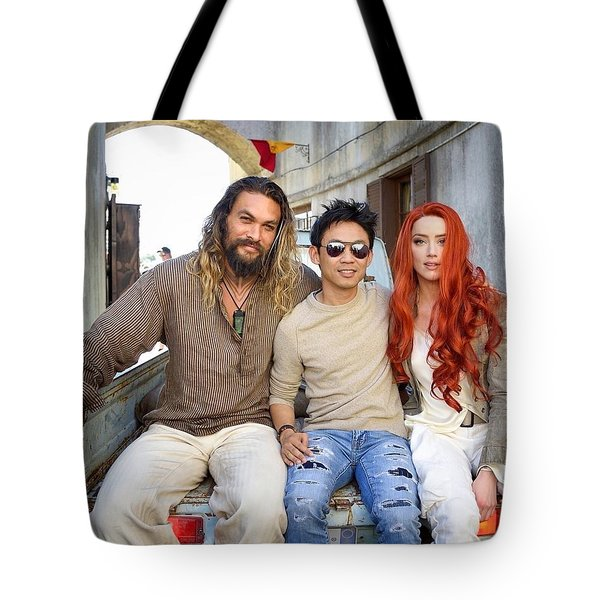 Aquaman Tote Bag