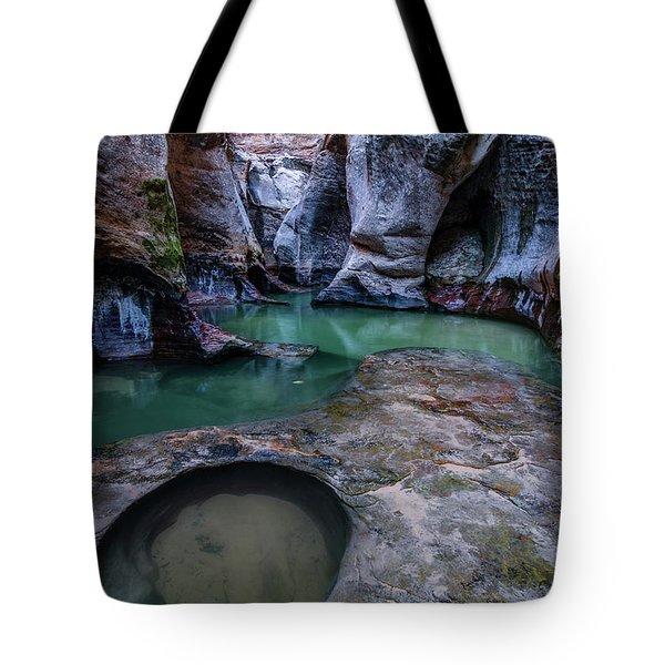 Tote Bag featuring the photograph Aquamarine  by Dustin LeFevre