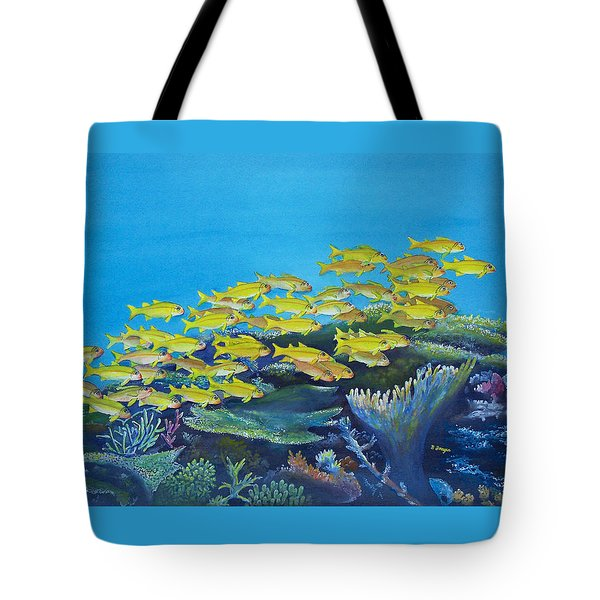 Aquariarama Tote Bag