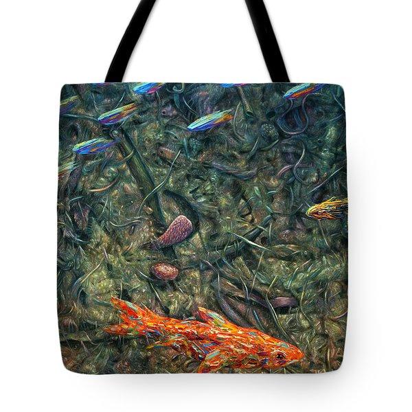 Aquarium 2 Tote Bag