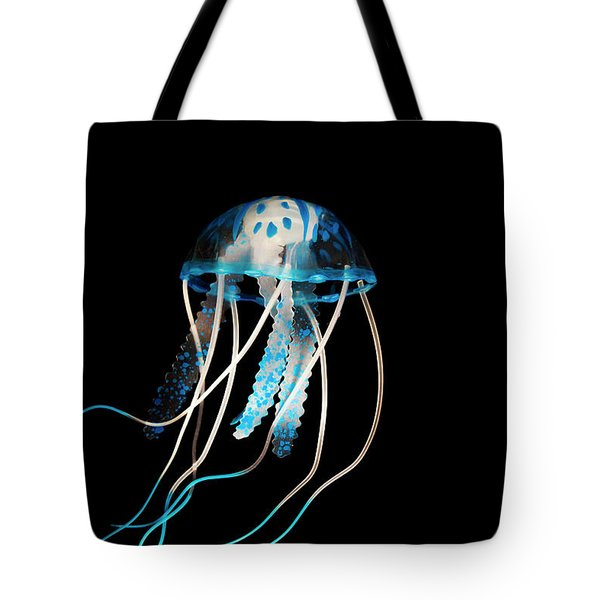 Aquarium Blue Tote Bag