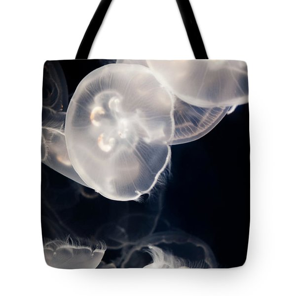 Aquarium Of The Pacific Jumping Jellies Tote Bag
