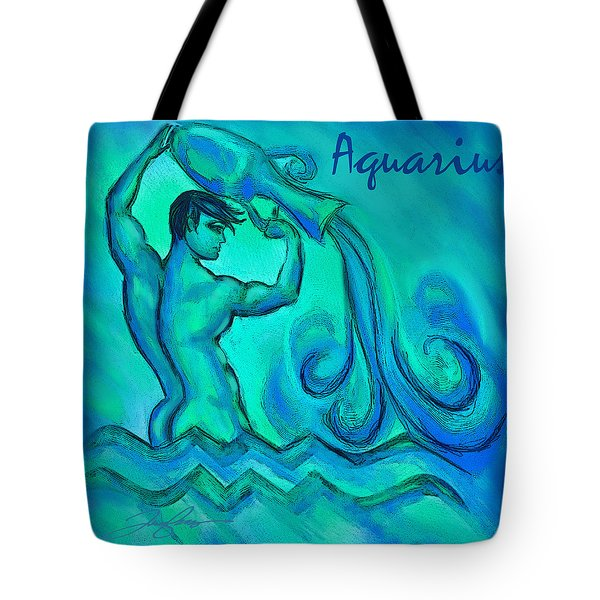 Aquarius Tote Bag