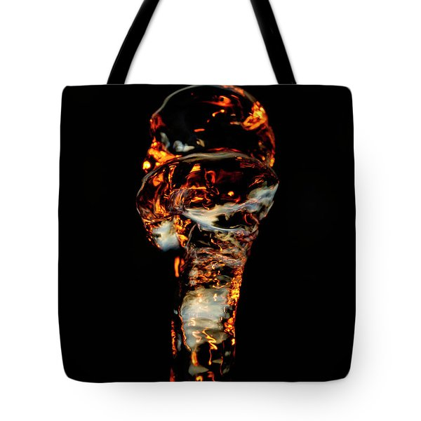 Tote Bag featuring the photograph Aquatic Alien Species by Rico Besserdich