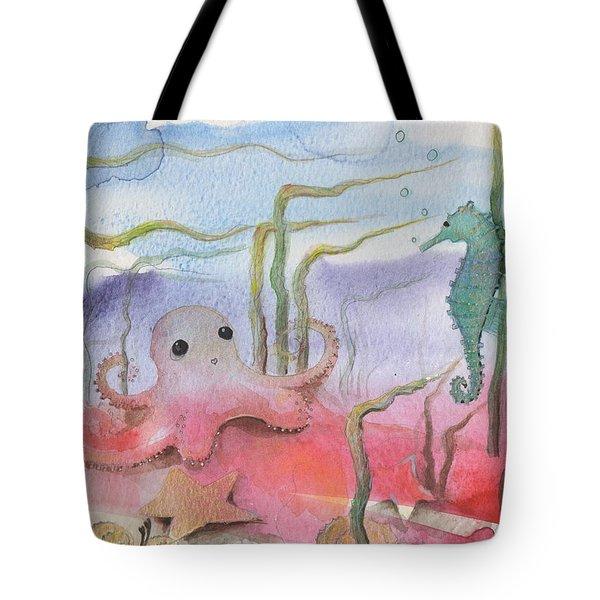 Aquatic Bliss Tote Bag