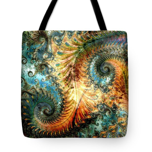 Aquatica Tote Bag by Kim Redd