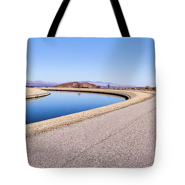Aqueduct Sharp Turn Tote Bag