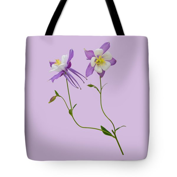 Aquilegia Specimen Tote Bag by Jane McIlroy