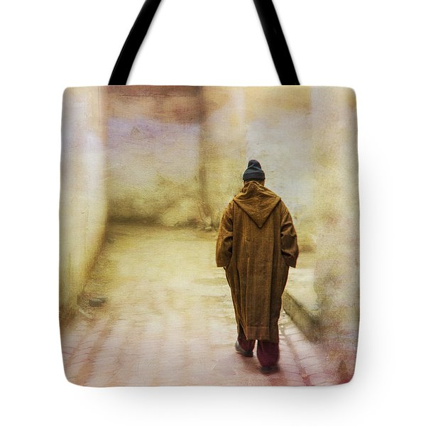 Arab Man Walking - Morocco 2 Tote Bag