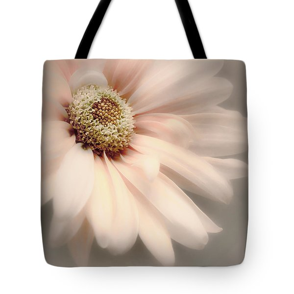 Tote Bag featuring the photograph Arabesque In Peach Glow by Darlene Kwiatkowski