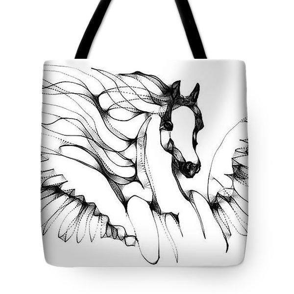 Arabian Angel Tote Bag