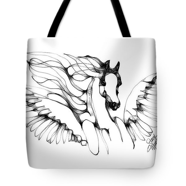 Arabian Angel Tote Bag