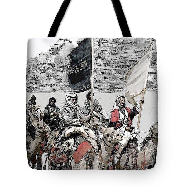 Arabian Cavalry Tote Bag