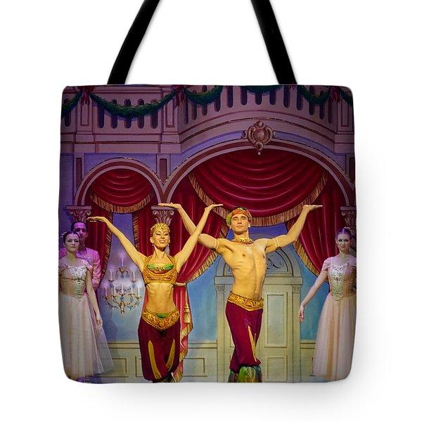 Arabian Dancers Tote Bag