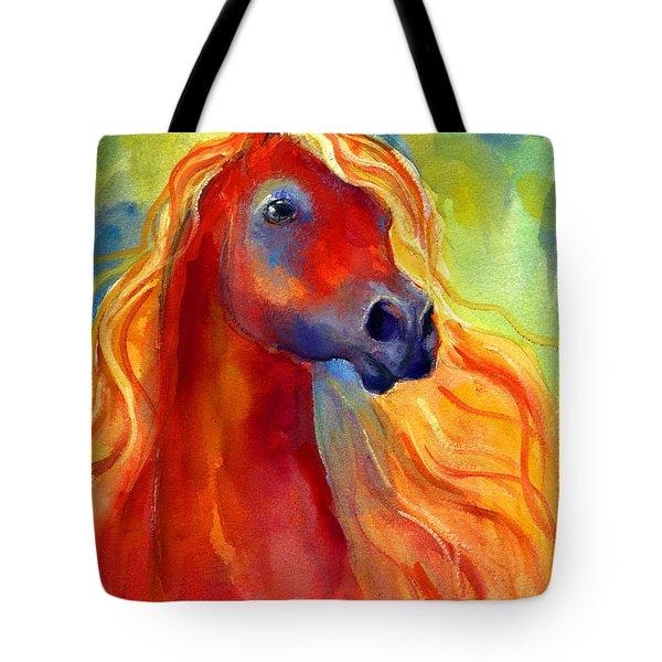 Arabian Horse 5 Painting Tote Bag by Svetlana Novikova