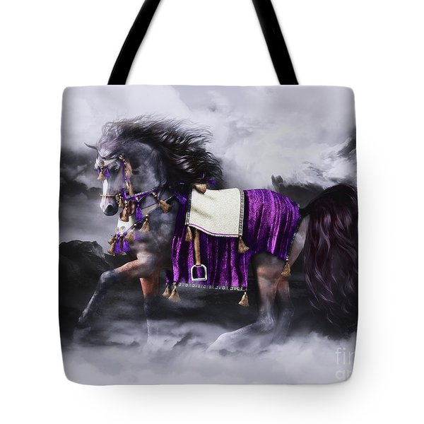 Arabian Horse  Shaitan Tote Bag