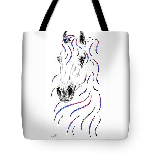 Arabian Horse Style Tote Bag