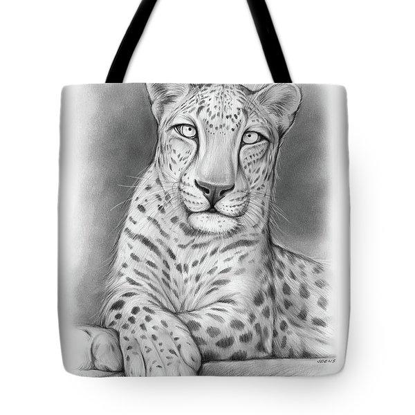 Arabian Leopard Tote Bag