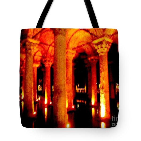 Arabic Nocturn A Tote Bag