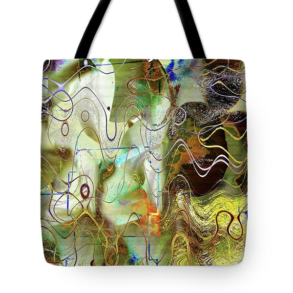 Arbitrary Color Opticality Tote Bag by Don Gradner