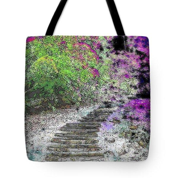 Arbor Pathway Tote Bag by Tim Allen