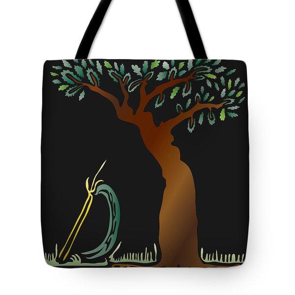 Arbor Scene Tote Bag