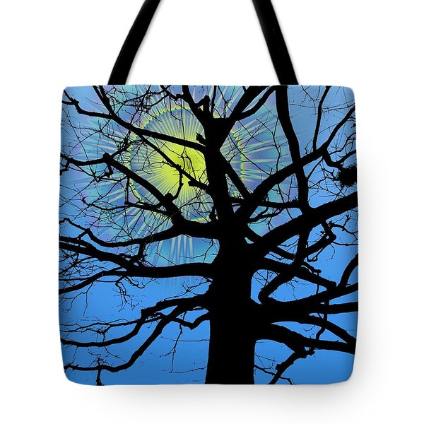 Arboreal Sun Tote Bag by Tim Allen