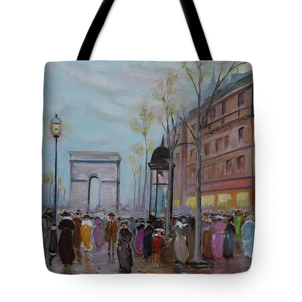 Arc De Triompfe - Lmj Tote Bag