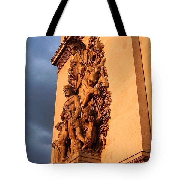 Arc De Triomphe Tote Bag by Juergen Weiss