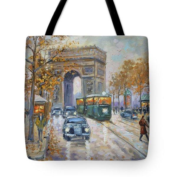 Arc De Triomphe, Paris Tote Bag