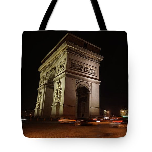 Arc Du Triomphe Paris Tote Bag by Erik Tanghe
