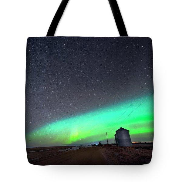 Arc Of The Aurora Tote Bag