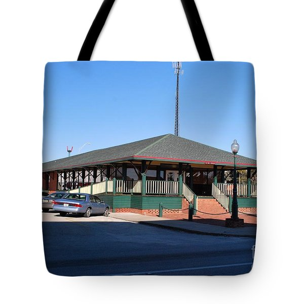 Arcadia Train Station Tote Bag