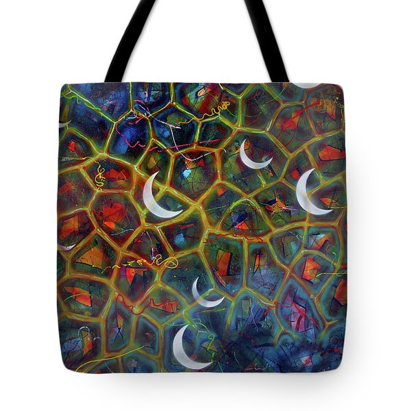 Arch 15 Crescents Part1 Tote Bag
