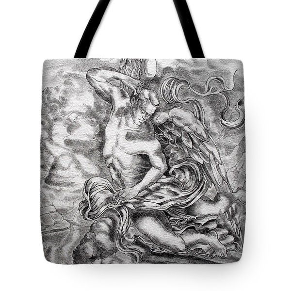 Arch Angel Tote Bag