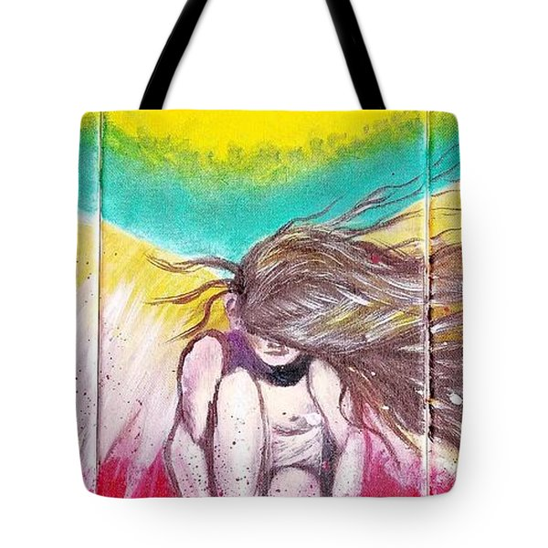 Arch Angel Michael Tote Bag