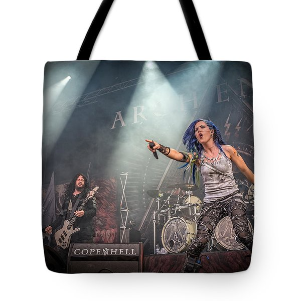 Tote Bag featuring the photograph Arch Enemy by Stefan Nielsen