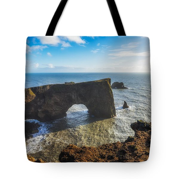 Tote Bag featuring the photograph Arch by James Billings
