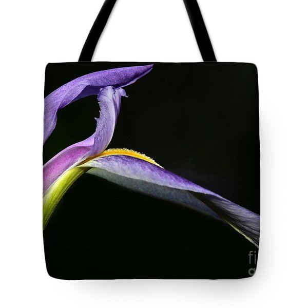 Arch Of An Iris Tote Bag by Sabrina L Ryan