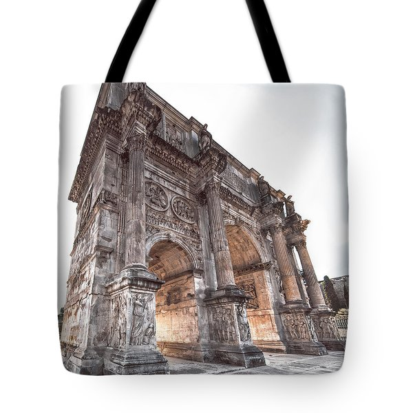 Arch Of Constantine Tote Bag
