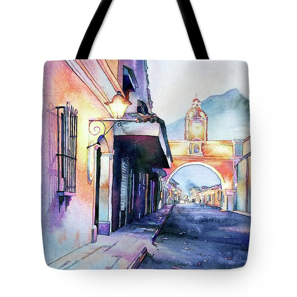 Arch Of Santa Catalina- Guatemala Tote Bag