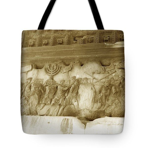 Arch Of Titus Tote Bag by Photo Researchers, Inc.