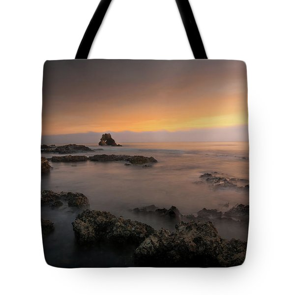 Arch Rock At Little Corona Tote Bag