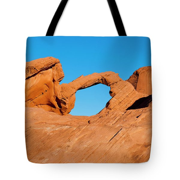 Arch Rock Tote Bag by Rae Tucker